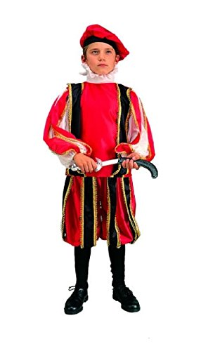 [OvedcRay Renaissance Boy Costume Medieval Romeo Child Costumes Shakespeare Play] (Shakespeare Plays Costumes)