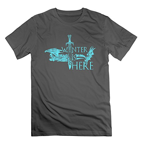 Men's Winter Is Here Short-Sleeve T-shirt DeepHeather M (The Flash Season 1 Episode 1 compare prices)
