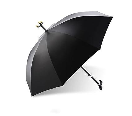Paraguas largo antideslizante Montañismo paraguas con sol paraguas bastón paraguas mango recto paraguas protector solar paraguas