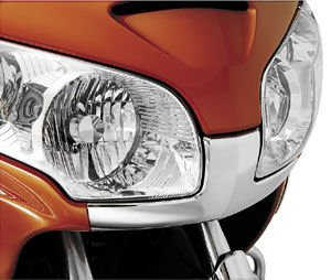 Show Chrome Front Fairing Nose Trim for Honda GL1800 01-10