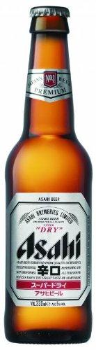 Asahi - Super Dry Japanese Premium Lager Beer - 24 x 330 ml - 5% ABV