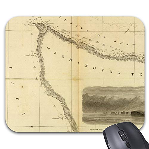 (Gray'S Harbor Admiralty Inlet Mouse Pad Stylish Office Computer Accessory 9.25 x 7.75