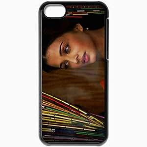 Personalized iPhone 5C Cell phone Case/Cover Skin Aishwarya Rai Black