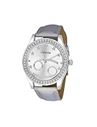 Unisex Crystal Zodiac Horoscope Watch- Cancer