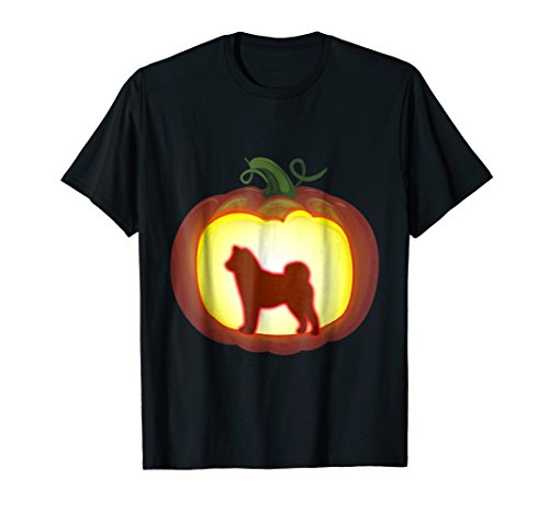 Pumpkin Lantern Shiba Inu Shirt Halloween Costume Lover (Funny Homemade Dog Halloween Costumes)