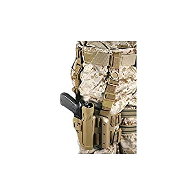 BLACKHAWK! Serpa Level 2 Tactical Coyote Tan Holster