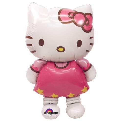 Anagram 23476 Hello Kitty Airwalkers Foil Balloon, 50