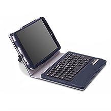 MoKo Wireless Bluetooth Keyboard Cover Case for LG G Pad F 8.0 [AT&T 4G LTE Model V495 and T-Mobile 4G LTE Model V496] & LG G Pad 2 8.0 [V498] 4G LTE Android Tablet, INDIGO