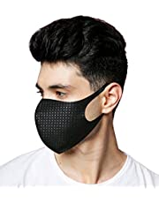 Ice Cool Face Cover Mask. Deodorizing Airsoft Protective. Silver Ion Nano Washable Reusable. Outdoor Cycling Running Gear