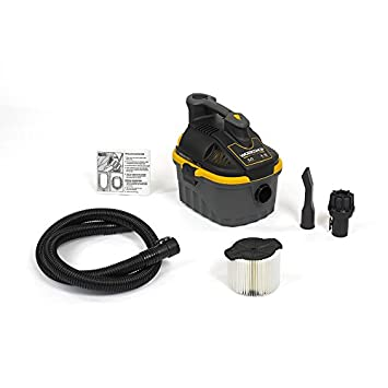 WORKSHOP Wet Dry Vac WS0400VA Portable Wet Dry Vacuum Cleaner, 4-Gallon Small Shop Vacuum Cleaner, 5.0 Peak HP Portable Vacuum