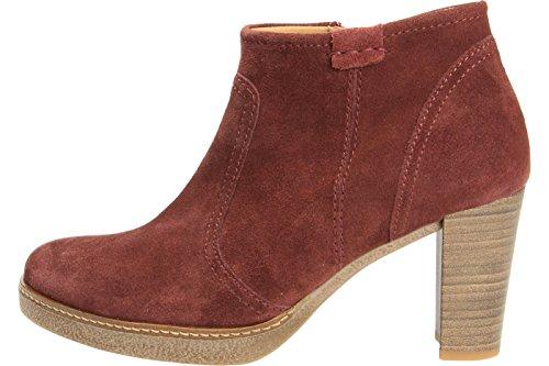Gabor Zapatos 55.752 Botín De Caña Corta Mujer rojo oscuro/bordo