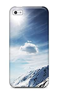 Tpu Mary David Proctor Shockproof Scratcheproof Sunny Snowy Mountains Hard Case Cover For Iphone 5c