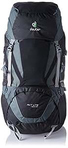 Deuter ACT Lite 40 + 10 Ultralight Trekking Backpack, Black/Granite