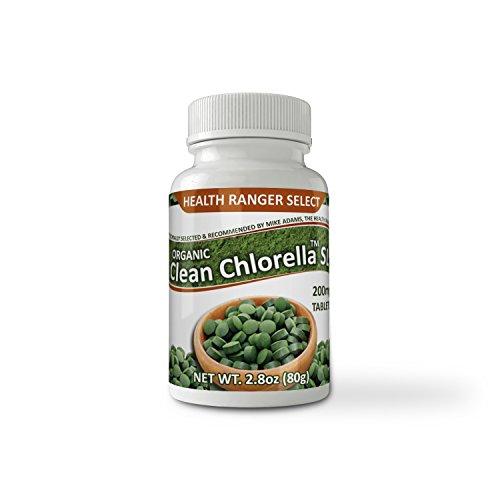 Organic Clean Chlorella SL 200mg 400 Tablets Review