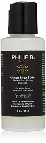 PHILIP B African Shea Butter Gentle and Conditioning Shampoo, 2 fl. (Philip B African Shea Butter)