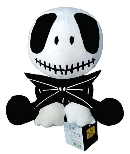 Jack Skellington Plush Doll – illuOkey Nightmare Before Christmas Toys – 7.8 Inches Pumpkin King Plush Stuffed Sitting Baby Jack Dolls
