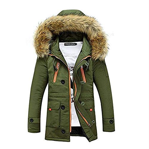 Amazon.com: TOP Fighting Men Parka New Casual Fashion Mens ...