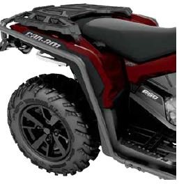 CAN-AM OUTLANDER G2 with XT bumpers 2019 except 6×6 FENDER PROTECTORS 715004940
