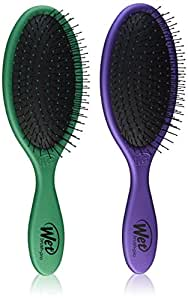 Wet Brush Collection Metallic, Green and Purple, 2 Piece