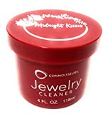 CONNOISSEURS Jewelry Cleaner for Diamond, Platinum, Gold & Precious Stones with polishing Cloth, Brush & dip Tray