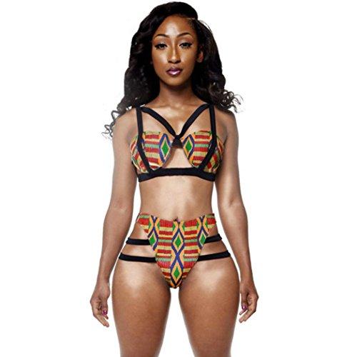 Hot New Women Bikini Set BIEARY African Print Two Piece