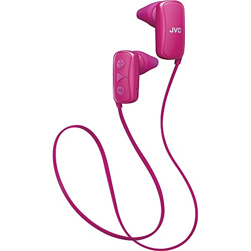 JVC In-Ear Headphone, Bluetooth, Gumy - Pink (Headphone Jvc Bluetooth)