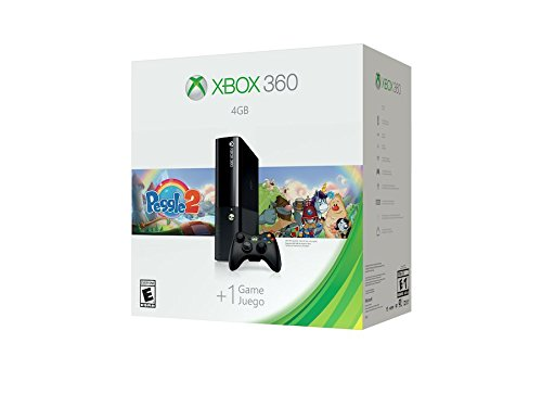 Xbox 360 4GB System Console with Peggle 2 Bundle by Microsoft