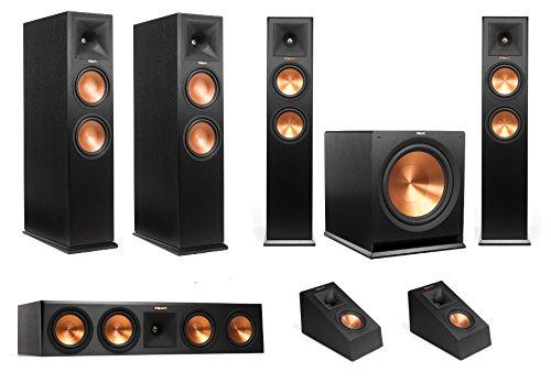Klipsch RP-280FA 5.1.4 Atmos Speaker Package (Black) by Klipsch
