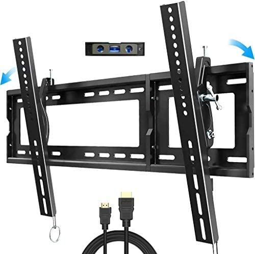 Tilt TV Wall Mount for Most 32-83 inch with Max VESA 600x400mm Holds up to 165lbs and Fits 16 18 24 Studs, BLUE STONE Universal TV Bracket Low Profile for Flat Screen, LED, OLED,LCD,4K Curved TVs