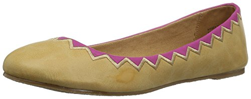 Coconuts by Matisse WoMen Kissed by Ballet Flat Natural