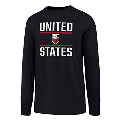 5edeaca1e World Cup Soccer United States Men's OTS Rival Long Sleeve Tee, X-Large,