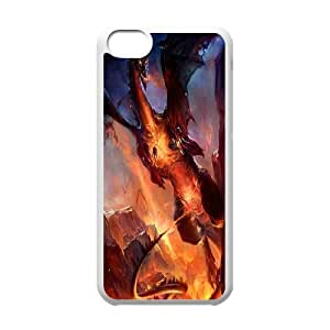 Customize Movie How to Train Your Dragon Back Case For Iphone 5c SBKP895988