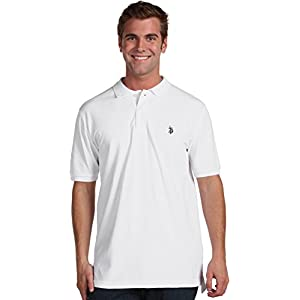 U.S. Polo Assn. Men's Classic Polo Shirt, White, M