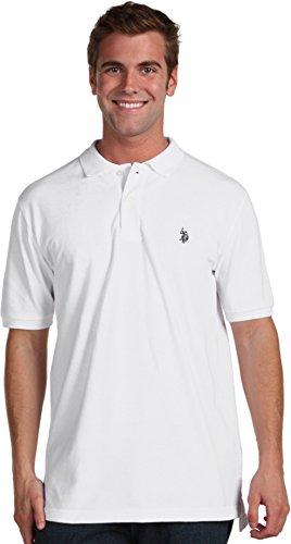 U.S. Polo Assn. Men's Classic Polo Shirt, White, ()