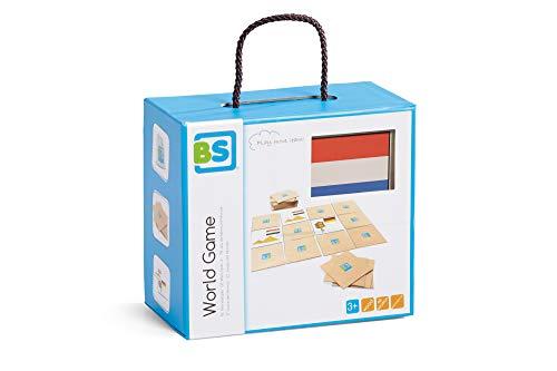 BuitenSpeel Toys World Game - Piso de baldosas de Memoria, Multicolor