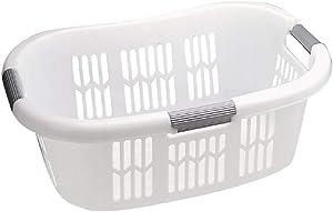 Rubbermaid FG299787WHT Hip Hugger Laundry Basket