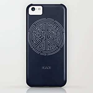 Society6 - Peace Maze iPhone & iPod Case by Adel