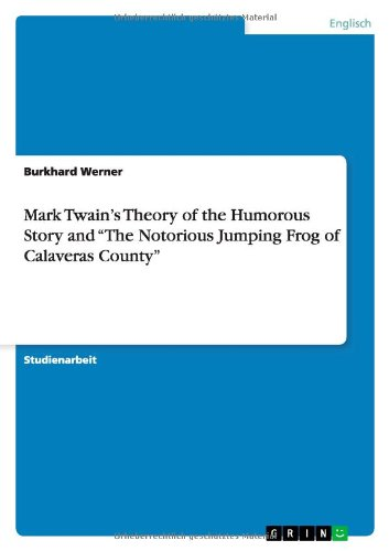 humorous essays by mark twain Mark twain essays essay about mark the way conflict is presented and the author's tone used with the conflict can greatly increase the humorous effect mark.