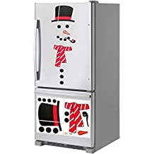 Christmas Decorations. Snowman Magnet Set. Animated Figure. Perfect for House Decoration Fridge, Metal Door, garage. Give Gift. Ornament Décor. If You Like Elf on The Shelf You'll Love This Too.