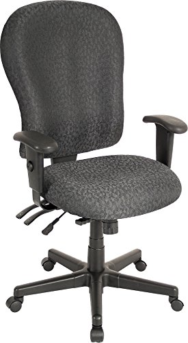 Eurotech Seating 4×4 XL FM4080-CH Highback Swivel Chair, Charcoal