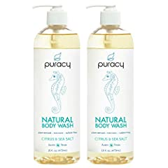 Puracy Natural Body Wash is a balanced blend of luxurious cleansers, emollients, and essential oils which clean, soften, and refresh all skin types. We designed it to be versatile enough to wash every body part. Packed in this world-class ble...