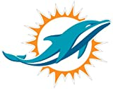 "Siskiyou NFL Miami Dolphins 8"" Automotive Magnet"