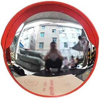 Geng カーブミラー 凸歩道ブラインド交通ミラー広角レンズ丈夫なポータブル広角凸面鏡