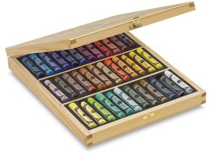 Sennelier 36 Full Pastel Wood Box Set by Sennelier