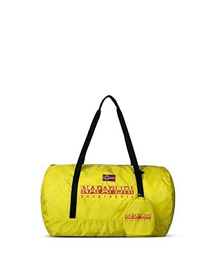 Napapijri Bering Gym Pack - Bolso Bandolera Hombre Y31(Bright Yellow)
