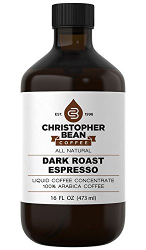 Dark Roast Espresso Cold Brew Or Hot Liquid Coffee Concentrate 16 Ounce Bottle