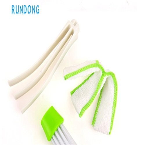 Sujing Air-condition Cleaner Computer Clean Tools Window Leaves Blinds Cleaner Duster Pocket Brush Keyboard Dust Collector by Sujing (Image #6)