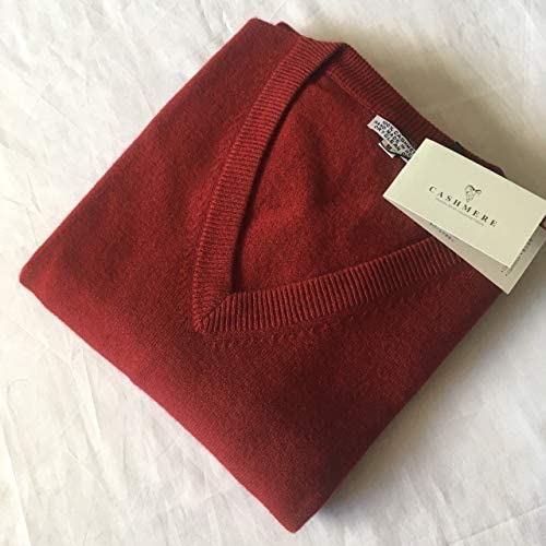 100/% Cashmere Mens V-neck Sweater A Grade Nepalese Pashmina Jumper Top Pullover