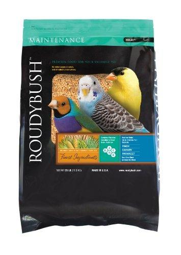Roudybush Daily Maintenance, Nibbles Bird Food, 25-Pound by RoudyBush Maintenance Nibbles