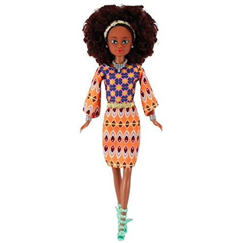 Review Queens of Africa Black Doll – WURAOLA (Curly/Natural Hair)